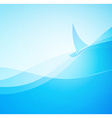 Abstract Marine Landscape vector image