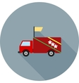 Campaign Vehicle vector image