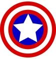 Captain America Logo vector image vector image