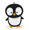 Cute Cartoon Penguin vector image