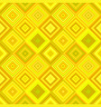 geometric diagonal square pattern background vector image vector image
