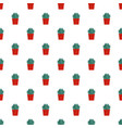 house cactus pot pattern seamless vector image vector image
