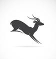 image of deer design vector image vector image