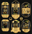 olive oil retro vintage background collection 2 vector image vector image