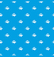 perch pattern seamless blue vector image vector image