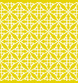 tile pattern with green yellow white background vector image