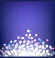 colorful bokeh and lights abstract background vector image vector image