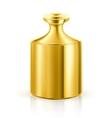 Gold highest standard vector image