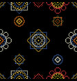 retro background with cross stitch vector image vector image