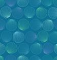 seamless pattern seashells vector image