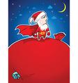Super Santa vector image vector image
