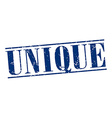 unique blue grunge vintage stamp isolated on white vector image vector image