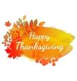 watercolor autumn banner vector image vector image