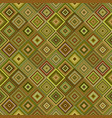 abstract seamless diagonal square pattern vector image vector image
