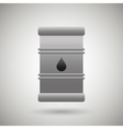 barrel oil design vector image