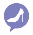 female shoes isolated icon vector image