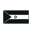 Flag of the Sahrawi Arab Democratic Republic vector image