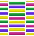 realistic detailed 3d color school measuring vector image vector image
