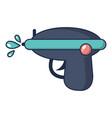 water gun icon cartoon style vector image