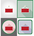delivery flat icons 16 vector image vector image