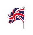 Flag icon United kingdom design graphic vector image vector image