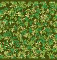 foliage seamless vector image vector image