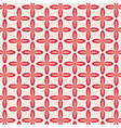 Geometric background with flowers vector image
