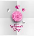 happy women s day poster design vector image
