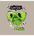 Love Sick vector image