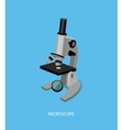 Microscope 3d Isometric Design vector image vector image
