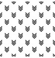 pointing arrow pattern seamless vector image vector image