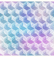 rhombus watercolor seamless pattern vector image