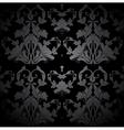 Dark Seamless Damask Pattern vector image