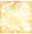 abstract golden background vector image vector image