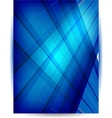 Abstract header blue vector image vector image