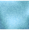 Abstract light blue background with tiny squares vector image