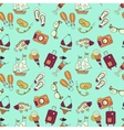 Beach holiday seamless pattern vector image vector image
