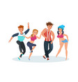 dances popular popular youth dances hip hop vector image vector image