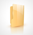 folder icon design vector image