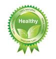 healthy seal vector image