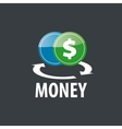 logo money vector image vector image