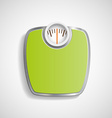 Scales for weighing vector image vector image