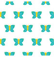 seamless pattern with butterflies perfect for vector image vector image