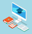 self education computer programmer business vector image