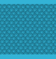 spiral circles resembling waves seamless pattern vector image