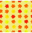 Maple leaves seamless pattern vector image