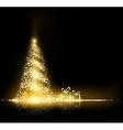 Christmas tree Stock vector image