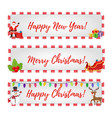 christmas banners for sale discounts vector image vector image