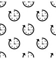 clock seamless pattern background icon flat vector image vector image