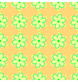 gentle geometric seamless pattern vector image
